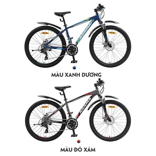 2 màu xe đạp asama mtb 2605