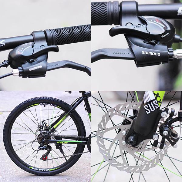 Phanh đĩa cơ xe đạp galaxy ct9