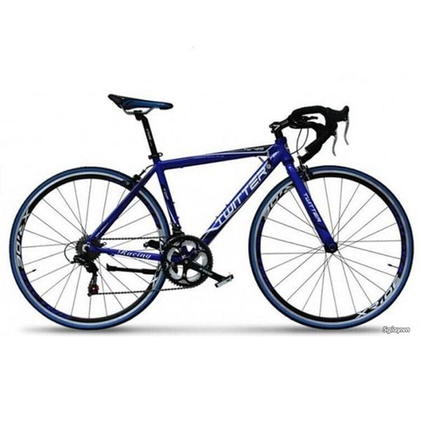 Xe đạp twitter 728 màu xanh đậm