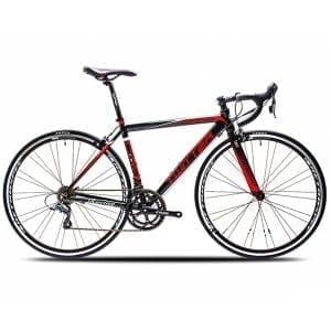 Xe đạp twitter 728 màu đỏ đen