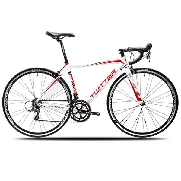 Xe đạp twitter 728 màu trắng đỏ