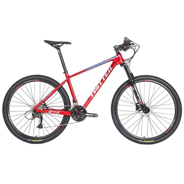 xe đạp twitter leopard pro màu đỏ
