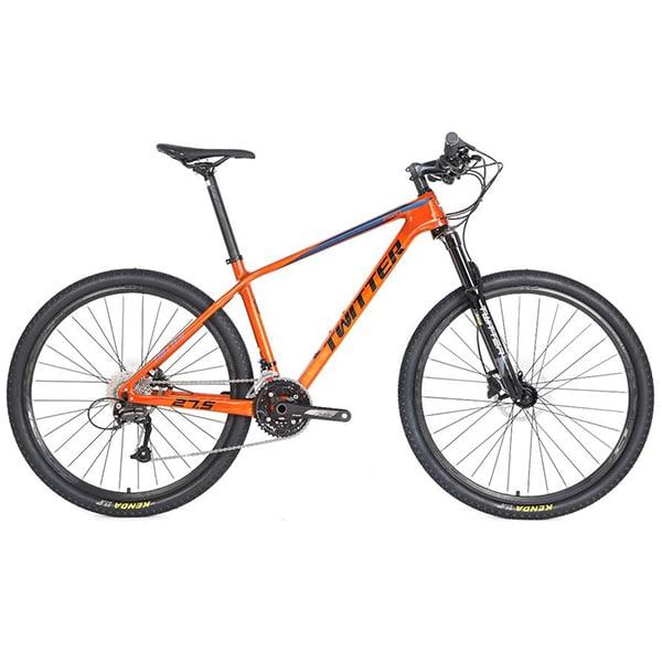 xe đạp twitter leopard pro màu cam
