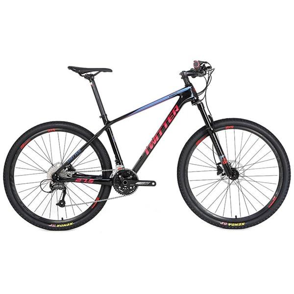xe đạp twitter leopard pro màu xanh đỏ đen