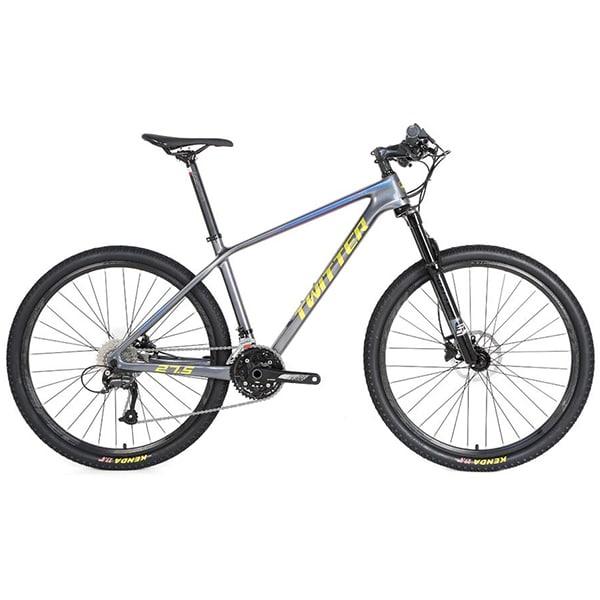 xe đạp twitter leopard pro màu xám