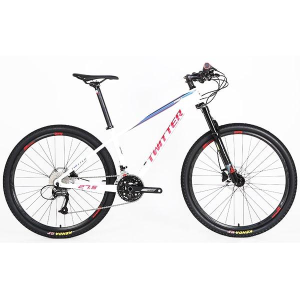 xe đạp twitter leopard pro màu trắng