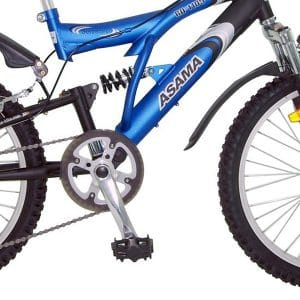 Hệ thống chuyển động và giảm sóc xe đạp asama amt 60