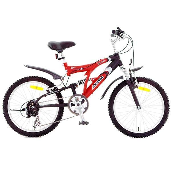 Xe đạp asama amt 60 màu đỏ