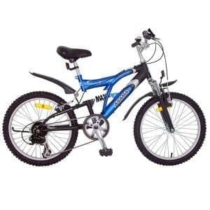 Xe đạp asama amt 60 màu xanh