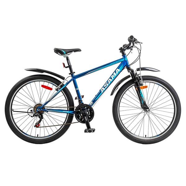 xe đạp asama mtb 2604 màu xanh đen