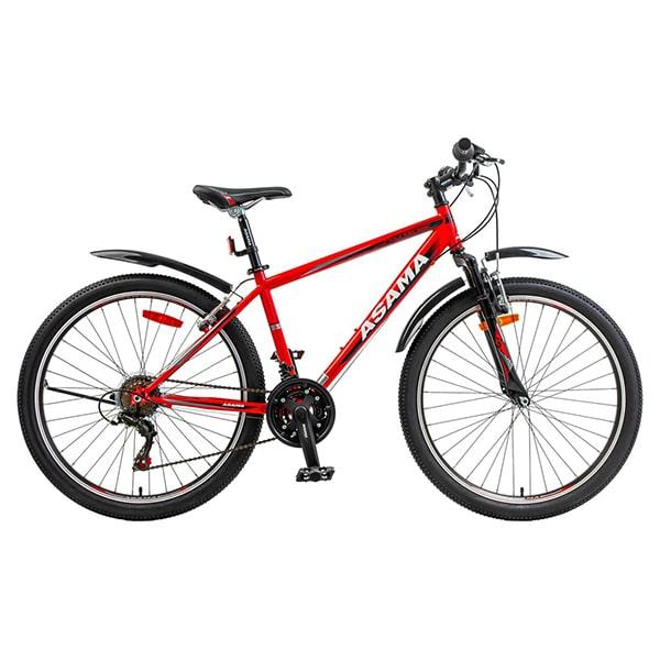 xe đạp asama mtb 2604 màu đỏ đen