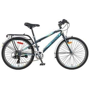 Xe đạp asama trk fl2401 màu xanh đen