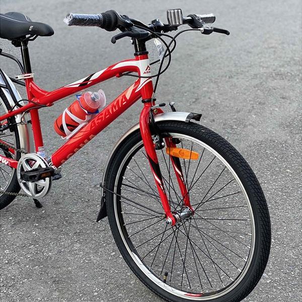 càng và bánh trước xe đạp asama trk fl2602