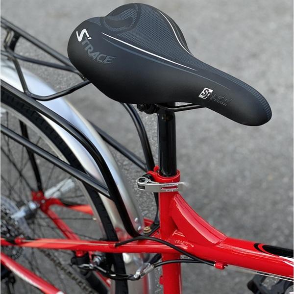 kiểu yên thể thao với rãnh thoát khí trên xe đạp asama trk fl2602