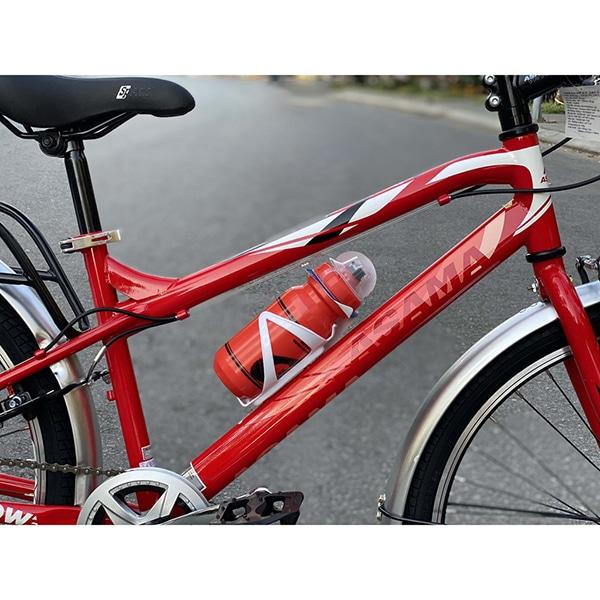 thân xe và bình nước trên xe đạp asama trk fl2602