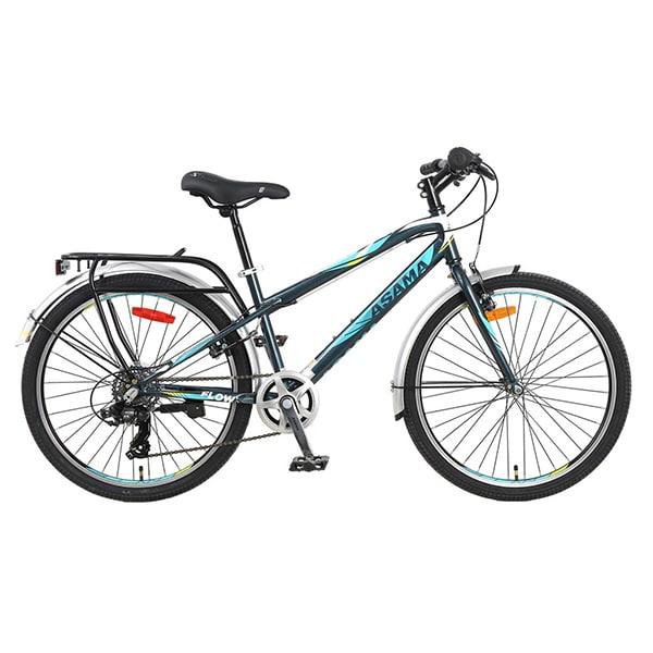 xe đạp asama trk fl2602 màu xanh