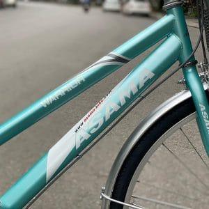 khung sườn thép xe đạp asama warrior