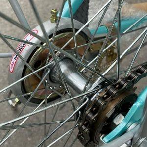 trục phí sau xe đạp asama warrior