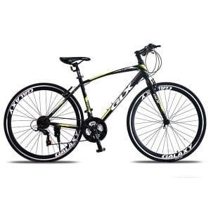 Xe đạp galaxy lp300 màu xanh lá đen