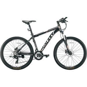 Xe đạp galaxy m10 màu trắng đen