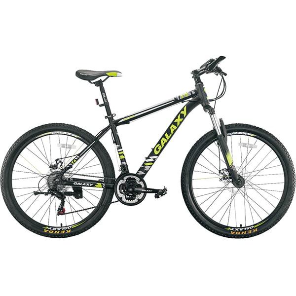 Xe đạp galaxy m10 màu xanh lá đen