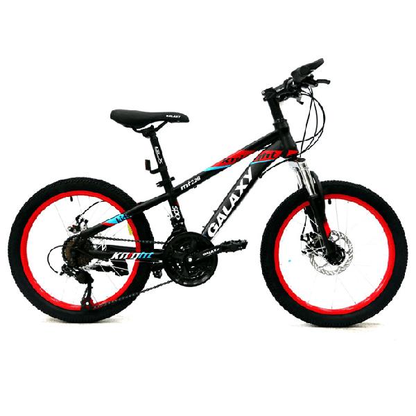Xe đạp trẻ em galaxy mt228 màu đen đỏ