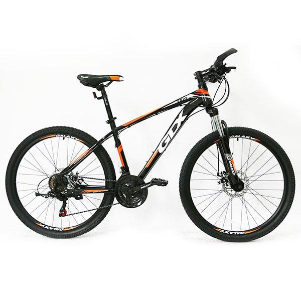 Xe đạp galaxy tx22 màu cam đen