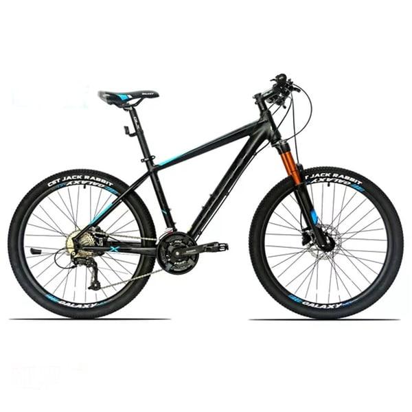 Xe đạp galaxy xc30 màu cam đen