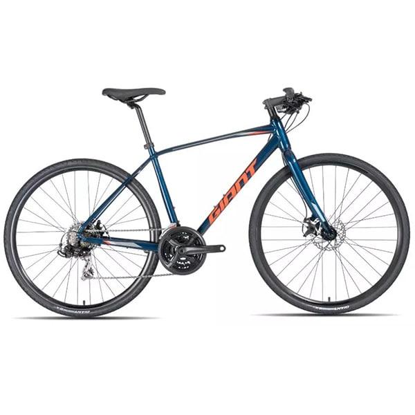 xe đạp giant escape 2 màu xanh cam