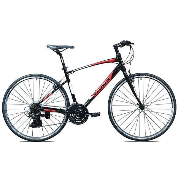 Xe đạp trinx free 1.0 màu đỏ đen