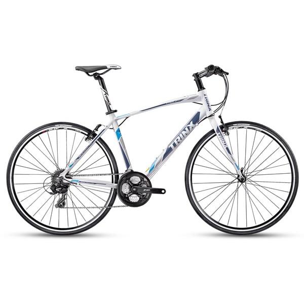 Xe đạp trinx free 2.0 màu trắng xanh