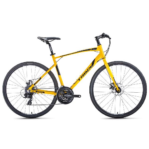 Xe đạp trinx free 2.0 màu vàng chanh