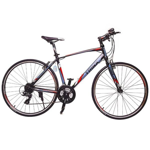 Xe đạp trinx free 2.0 màu đỏ đen