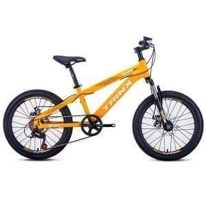 Xe đạp trinx junior 1.0 màu vàng chanh