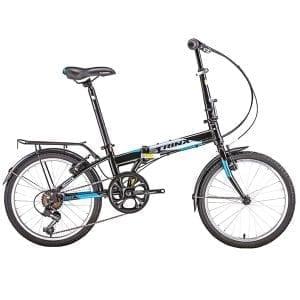 Xe đạp gấp trinx life 2.0 màu đen