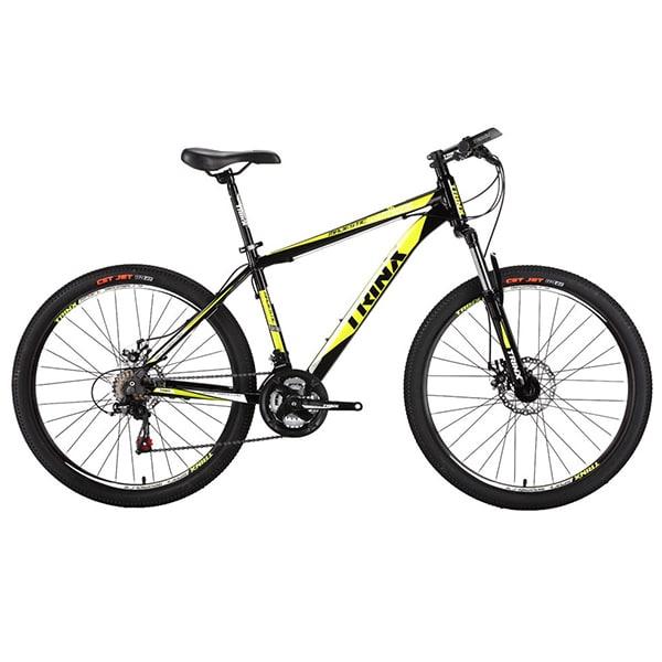 Xe đạp trinx m136 màu vàng đen