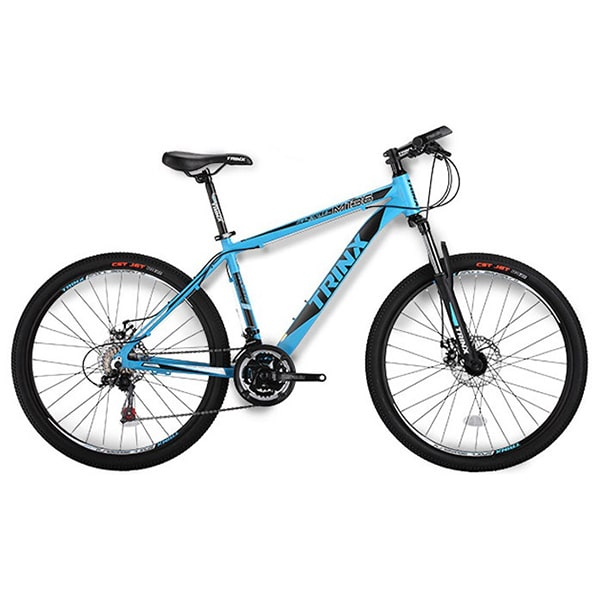Xe đạp trinx m136 màu xanh dương