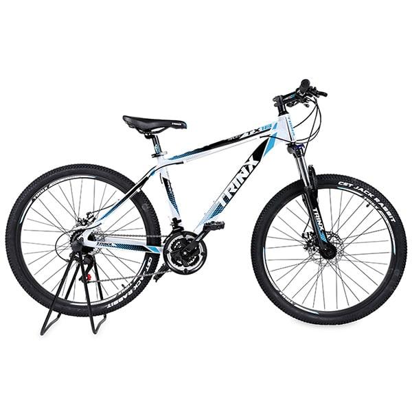 Xe đạp trinx tx18 màu trắng xanh dương