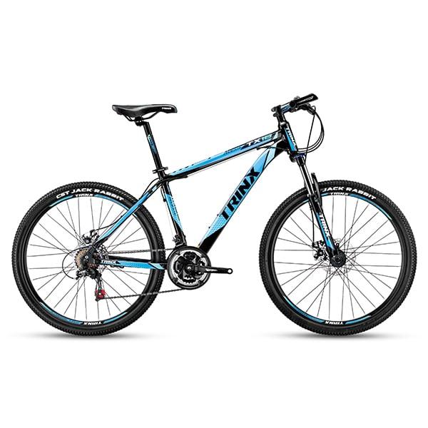 Xe đạp trinx tx18 màu xanh dương đen