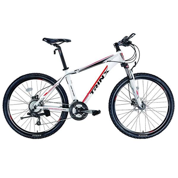 Xe đạp trinx x1 màu trắng đỏ