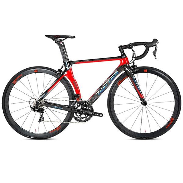 xe đạp twitter R7000 màu đỏ đen