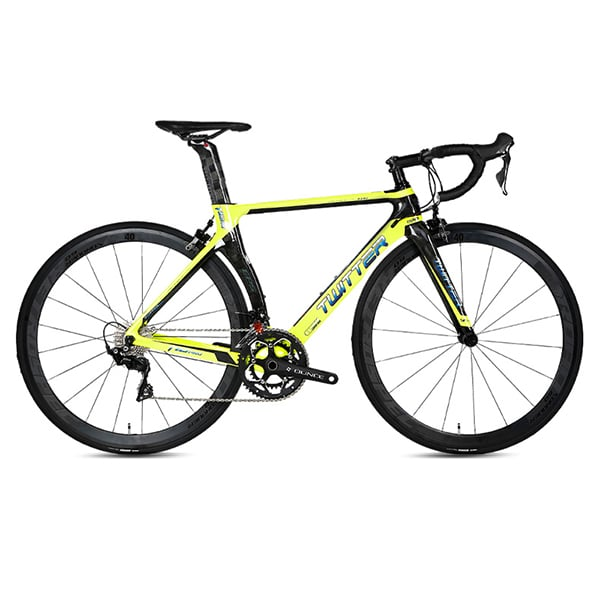 xe đạp twitter R7000 màu vàng chanh
