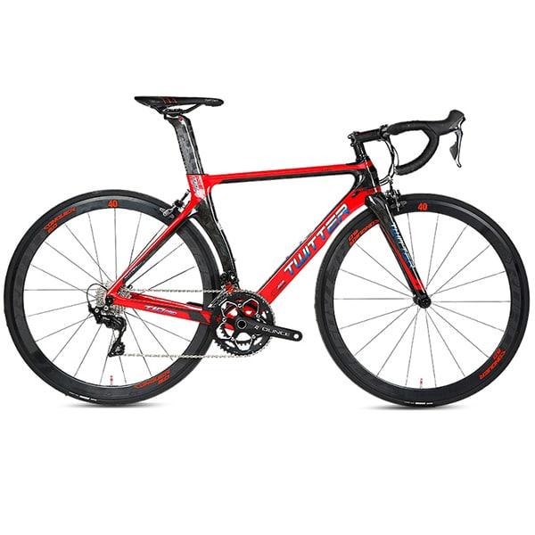 xe đạp twitter R7000 màu đỏ