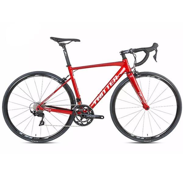 Xe đạp twitter smile màu đỏ