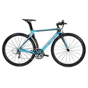 Xe đạp twitter t10 pro tay ngang màu xanh dương