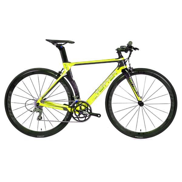 Xe đạp twitter t10 pro tay ngang màu vàng chanh