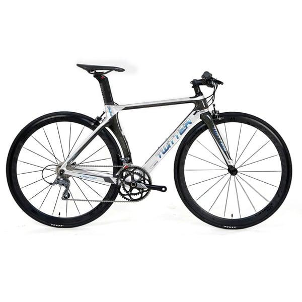 Xe đạp twitter t10 pro tay ngang màu trắng