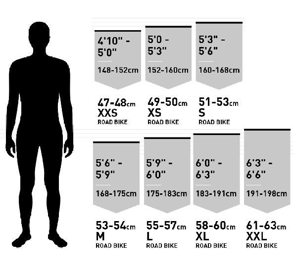 Cách chọn size xe đạp cho nam giới