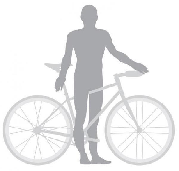 Cách chọn size xe đạp phù hợp với chiều cao
