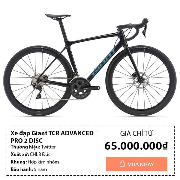 Xe đạp đua Giant TCR Adcanced pro 2 disc